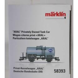 Märklin Tankwagen Aral Spur 1