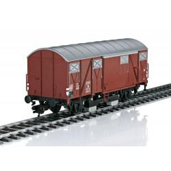 Güterwagen Gmhs 52 mit Schienenreinigung DB Epoche III Märklin 58269