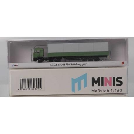 MINIS LC4062 MAN F90 Sattelzug grün