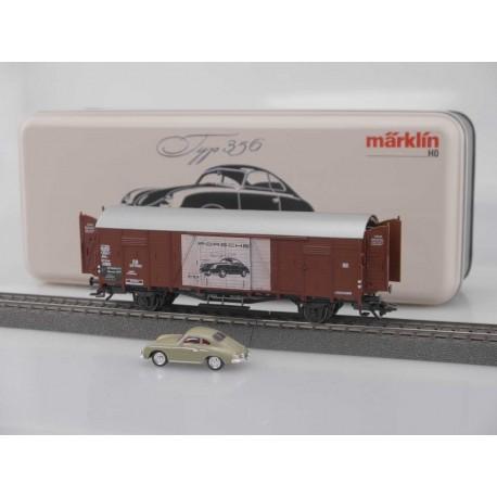 Märklin Museumswagen Set 2019, Spur HO Glt 23 Porsche