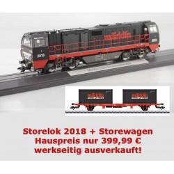 Märklin Store Lok 2018 Vossloh G 2000 BB Märklin 37217